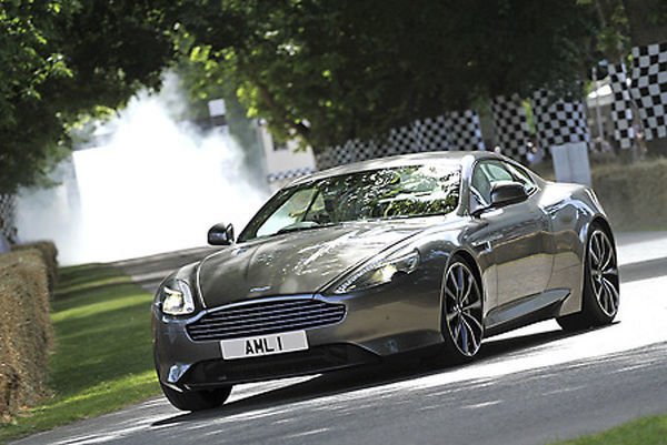 Aston Martin DB9 GT 2015 Grey