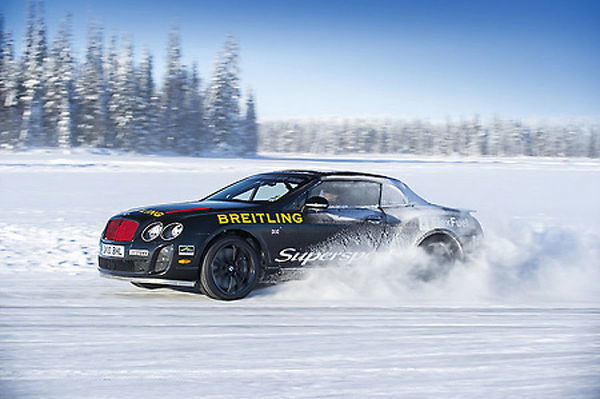 Bentley Continental SS Convertible (World Ice Speed Record Holder, driven by Juha Kankkunen) 2010 Black