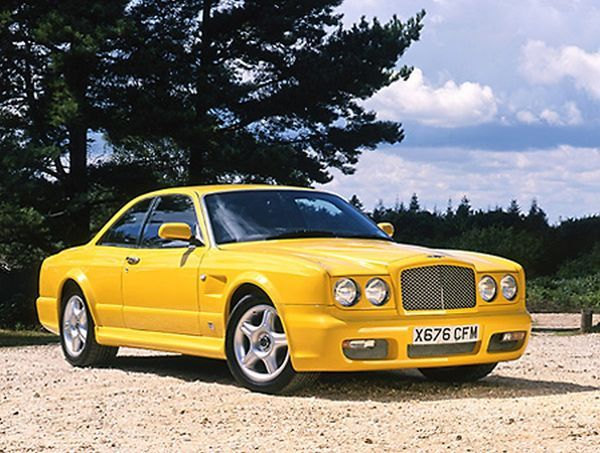 Bentley Continental T Personal Commission 1999 Yellow