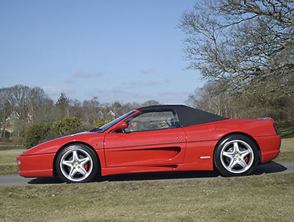 Ferrari 355 F1 Spider 1998 Red black interior