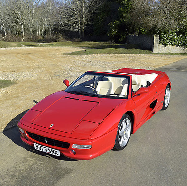 Ferrari 355 F1 Spider 1998 Red cream interior
