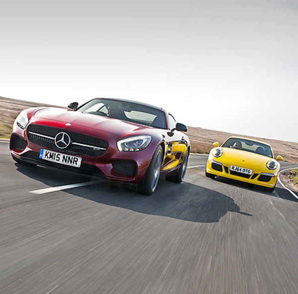 Mercedes-Benz AMG GT-S 2015 Red metallic