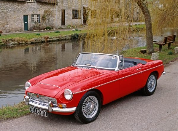 MG MGC Roadster Britain
