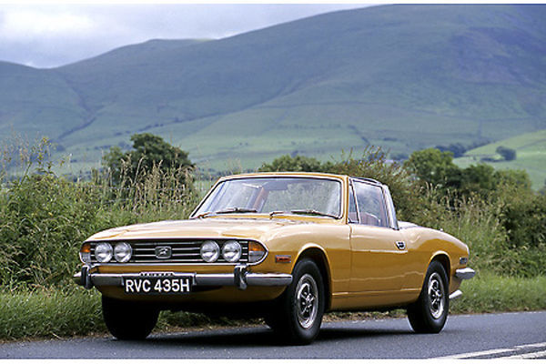 Triumph Stag (ex-James Bond film, Diamonds are Forever) 1970 Yellow