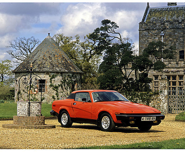 Triumph TR8 Coupe, 1981, Red