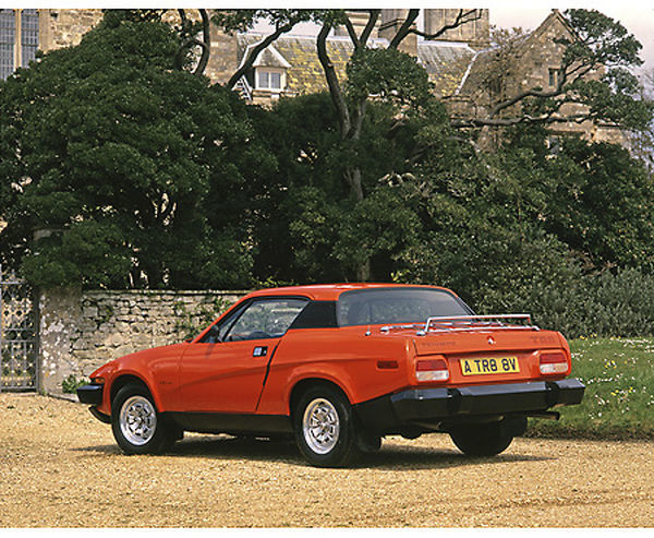 Triumph TR8 Coupe 1981 Red