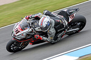 2015 World Superbike Round - Donnington Park, UK Leon Haslam, Aprilia RSV4