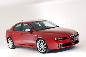 Alfa Romeo 159 2009 Red