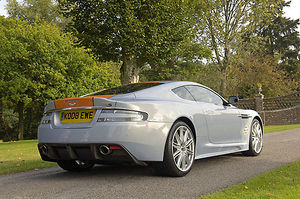 Aston Martin DBS (formerly owned by Dr.Ulrich Bez, CEO of Aston Martin) 2008 blue