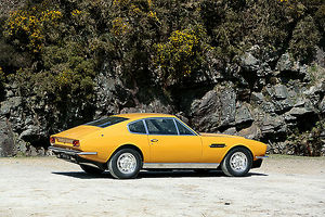 Aston Martin DBS V8 (from 1970s TV series The Persuaders), 1970, Yellow