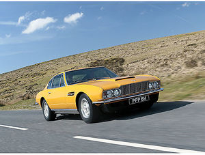 Aston Martin DBS V8 (from 1970s TV series The Persuaders) 1970 Yellow