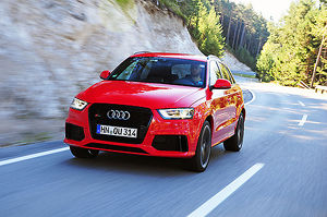 Audi Q3 RS 2013 Red