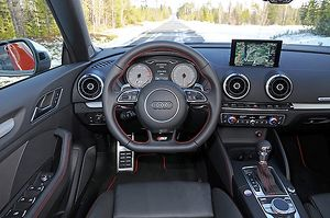 Audi S3 Cabriolet 2014 Red