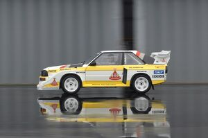 Audi Sport Quattro S1 (Group B rally car) 1985 white multi