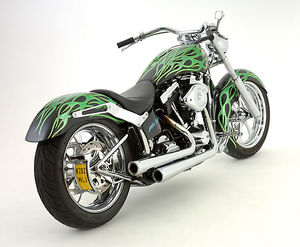 Battistinis Modified Harley