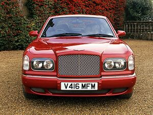 Bentley Arnage Red Label, 1999, Red, maroon