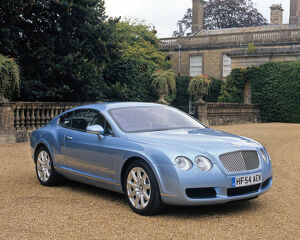 Bentley Continental GT, 2004, Blue, ice