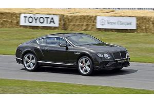 Bentley Continental GT Speed (new model for 2015), 2015, Black