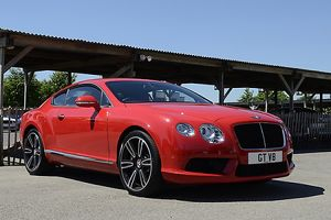 Bentley Continental GT V8, 2012, Red