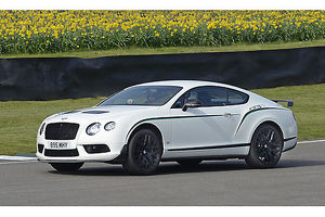 Bentley Continental GT3-R, 2016, White, & green