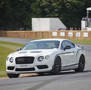 Bentley Continental GT3R, 2014, White