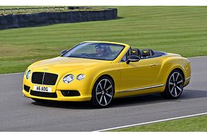 Bentley Continental GTC V8S, 2014, Yellow