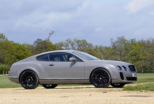 Bentley Continental Supersports, 2012, Grey