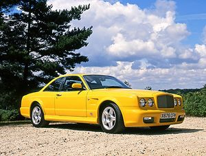Bentley Continental T Personal Commission, 1999, Yellow