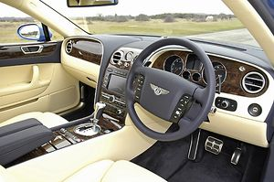 Bentley Flying Spur, 2006, Blue, mid
