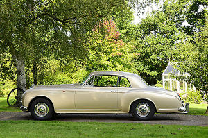 Bentley S1 Continental Park Ward Coupe, 1956, Beige