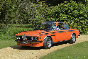 BMW 3.0 Csi, 1982, Orange, & black