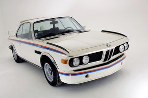 BMW 3.0CSL Batmobile 1974 White red & blue details
