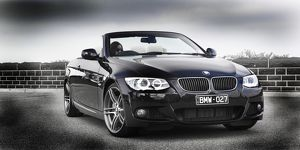 BMW 335i convertible black 2011