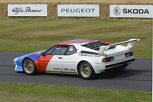 BMW M1 Procar, 1979, White, & blue