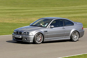 BMW M3 CSL 2005 grey metallic