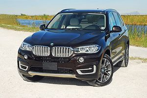 BMW X5 xDrive35i, 2014, Brown, metallic