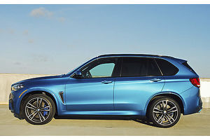 BMW X5M, 2015, Blue, metallic