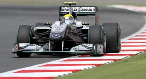 British GP 2010 Nico Rosberg Mercedes