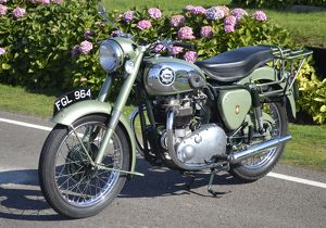 BSA A7 Shooting Star 1954 Green