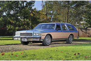 Chevrolet Caprice Estate 1987 Blue & brown