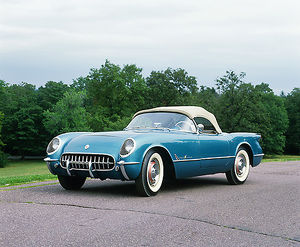Chevrolet Corvette, 1955, Blue