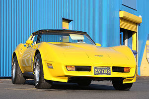 Chevrolet Corvette , 1980, Yellow
