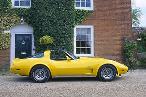 Chevrolet Corvette 25th Anniversary Edition, 1978, Yellow
