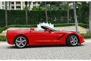 Chevrolet Corvette C7 Stingray Convertible, 2014, Red