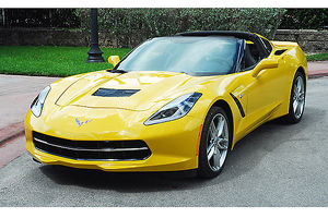 Chevrolet Corvette C7 Stingray Z51, 2014, Yellow