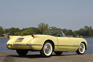 Chevrolet Corvette Roadster (ex-Zora Duntov, Chevrolet chief engineer), 1955, Cream