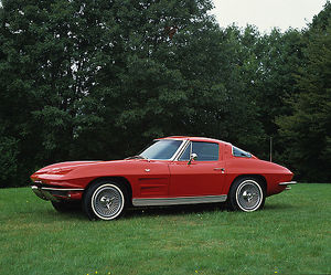 Chevrolet Corvette Stingray, 1963, Red