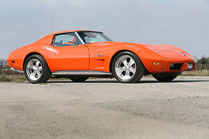 Chevrolet Corvette Stingray, 1976, Orange