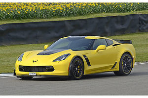 Chevrolet Corvette Z06, 2016, Yellow, & black