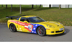 Chevrolet Corvette Z06 C6R, 2008, Yellow